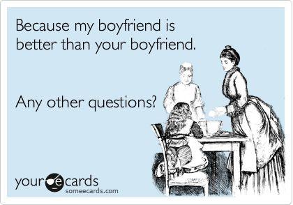 what i love about my boyfriend list