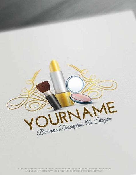 Create Makeup artist logo design using the Free Logo Maker #style #shopping #styles #outfit #pretty #girl #girls #beauty #beautiful #me #cute #stylish #photooftheday #swag #dress #shoes #diy #design #fashion #Makeup