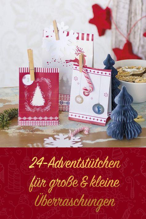 """ROTH Adventskalender 24 Adventstütchen /""""Nordic/"""""""