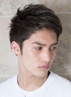 短髪 男性 髪型