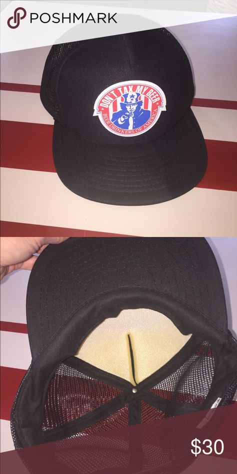317f3edfc0e Vintage Don t Tax My Beer SnapBack Hat Vintage Don t Tax My Beer SnapBack  Hat Vintage Accessories Hats