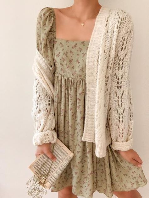 Dresses – Breath of Youth Cute Casual Outfits, Boho Outfits, Pretty Outfits, Girl Outfits, Fashion Outfits, Floral Dress Outfits, Best Casual Dresses, Modest Outfits, Countryside Dress