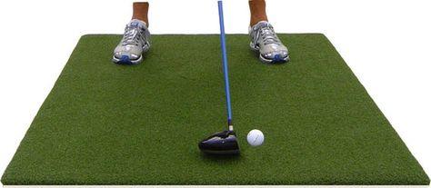 Turf Golf Mat 4 Ft X 6 Ft Premium Pro Residential With 5mm Foam Pad Backing Golf Mats Golf Driving Range Indoor Golf Simulator