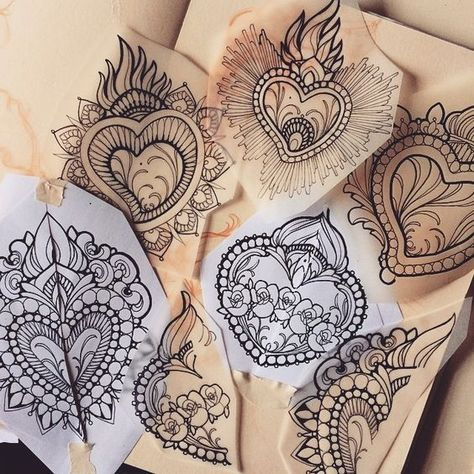 SUNDAY at the @milanotattooconvention i will do WALK-INS!! I will have 6 drawing of Ex-Voto / sacred heart ready for youuuu, first come first served!! Remember only Sunday :))!!! #exvotoDay #tattoo #missjuliet  (presso South Ink Tattoo)