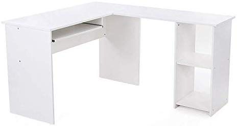 Songmics Schreibtisch Grosser Computertisch Stabiler Eckschreibtisch Pc Tisch Erleichterte Montage 140 X 120 Cm Win Eckschreibtisch Computertisch Burotisch