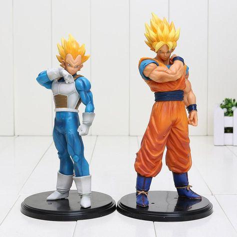 DRAGON BALL Z Figuras de acción Nappa /& Raditz Saiyan 18 cm
