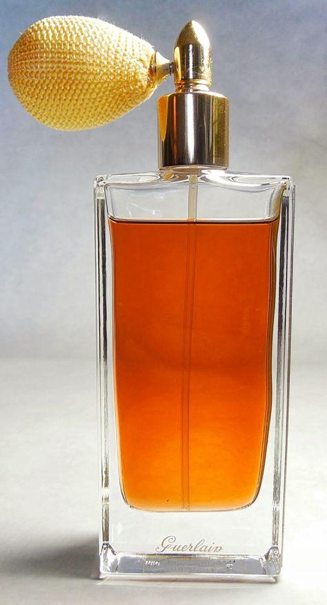 Unisex Guerlain Angelique Noire Eau De Parfum With Bulb Atomizer