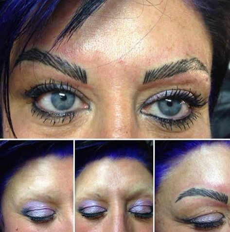 """As a professional you definitely don't want this to happen.... As part of my training I have to research not only for the perfect """"brow rock"""" but for what you should avoid doing on your clients"""