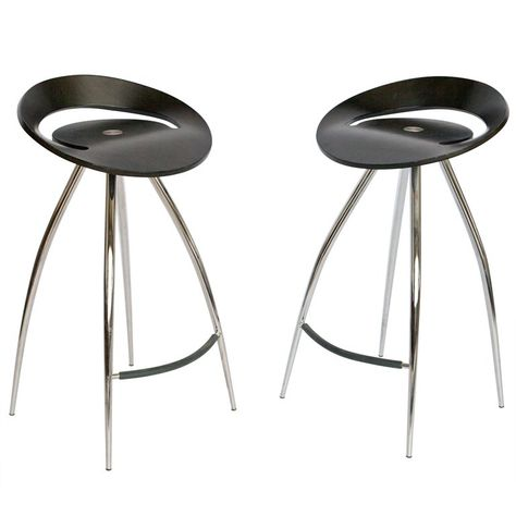 Admirable 1Stdibs Chrome Wood Bar Magis Modern Italian Stool In 2019 Bralicious Painted Fabric Chair Ideas Braliciousco
