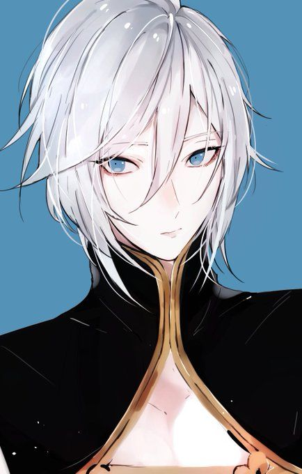 Pin By Sky Flakes On White Hair Guy Aesthetic Drawing Character Design Animation Character Design Male