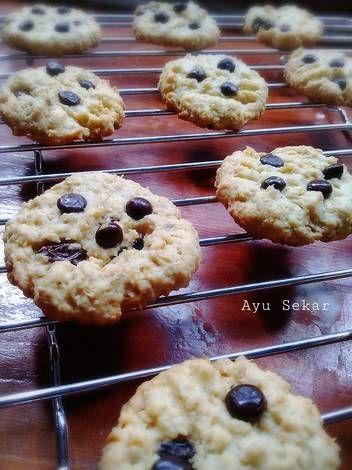 Resep Oat Cookies With Banana Kismis N Choco Chip Oleh Ayu Sekarini Resep Kismis Kue Kering Pisang