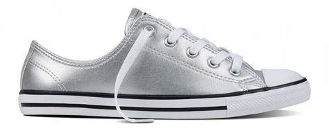 buy \u003e metallic silver converse womens