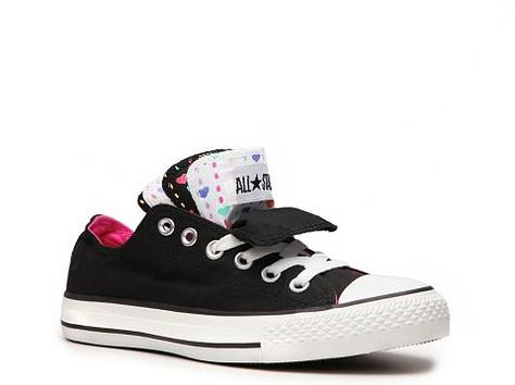 a5309de63aaa Converse Chuck Taylor All Star Multi Tongue Heart Sneaker Women s Converse  Converse Featured Brands Athletic - DSW