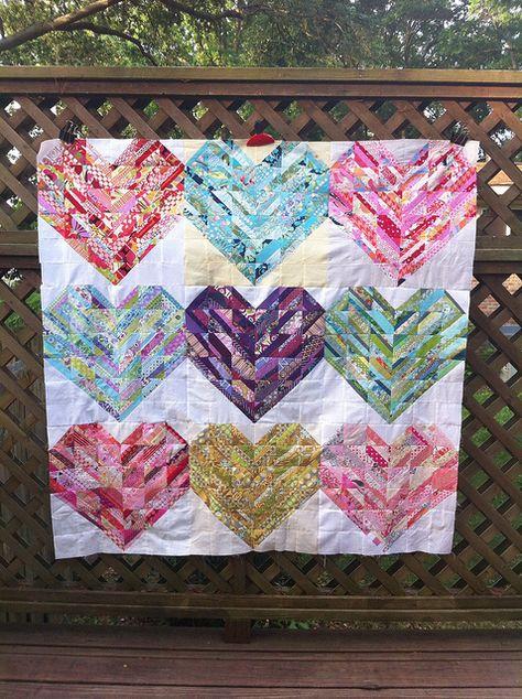 Heartstrings Quilt | Katie's Korner