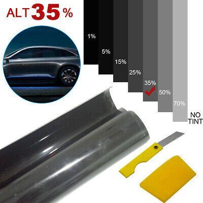 Details About Car Window Sun Visor Strip Tint Film Windshield Uv
