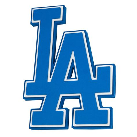 Awake any space with team spirit when you proudly display this Los Angeles Dodgers logo sign.