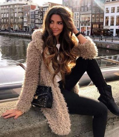 8782f819f47 23 Chic Ways to Wear Faux Fur Coats