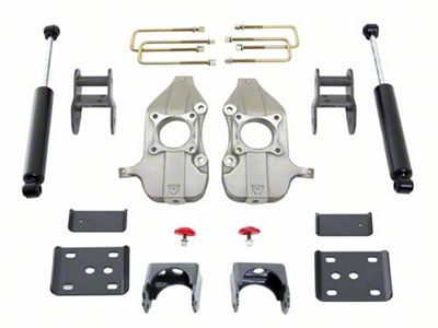 Max Trac F 150 Lowering Kit 2 In Front 4 In Rear K333424 09 14 2wd F 150 Lowered Trucks Drop Spindle The Struts