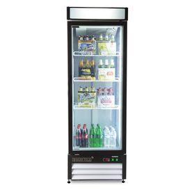 Maxx Cold 12 Cu Ft 1 Door Merchandiser Commercial Refrigerator White Lowes Com Glass Door Refrigerator Single Doors Glass Front Refrigerator