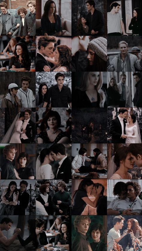 Twilight wallpaper collage