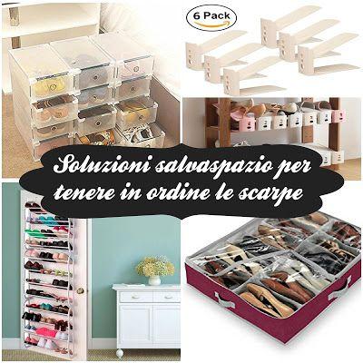 Soluzioni salvaspazio per tenere in ordine le scarpe | www