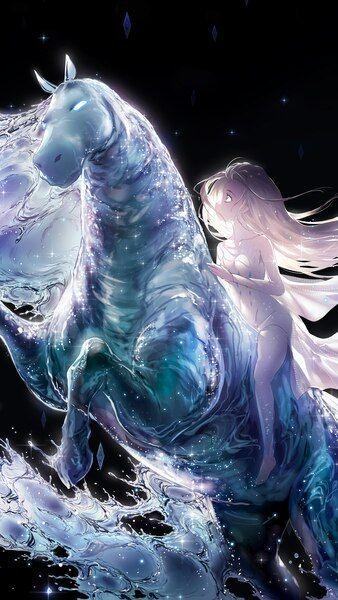 Frozen 2 Elsa Water Horse 4k Wallpaper 7 581 Horse Wallpaper Frozen Wallpaper Wallpaper
