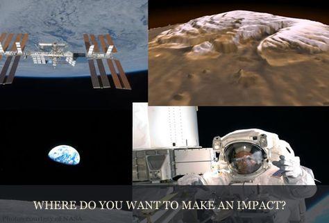 Where do you want to make an impact?