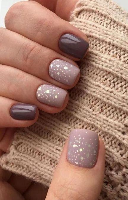 New Collections Of Best Inspiring Nail Art Designs For Short Nails 22 Brown Nails Design Short Acrylic Nails Nail Art Designs