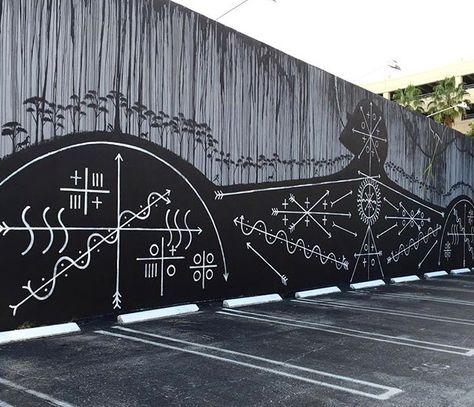 by Jose Bedia in Palm Beach, FL, 11/15 (LP)