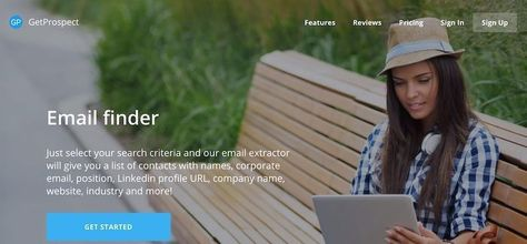 GetProspect helps you to find business email address in one click