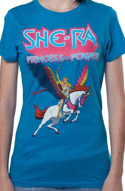 She Ra Princess Of Power Riding Swiftwind Womans Tank Top Shirt
