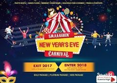 Smaaash New Year Carnival New Years Party Newyear Party Tickets