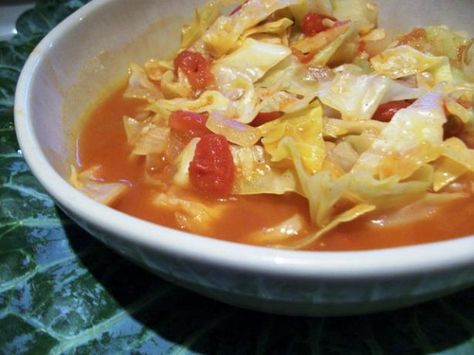 Hungarian Sweet 'n' Sour Cabbage Soup. I have had this soup and it's wonderful. I could live on this, it's a lot like sweet and sour chicken without the fat or calories, Yum!