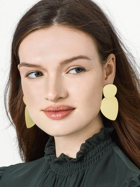 Barcelona Drop Earrings - Statement Earrings to Spice Up Any Outfit - Photos