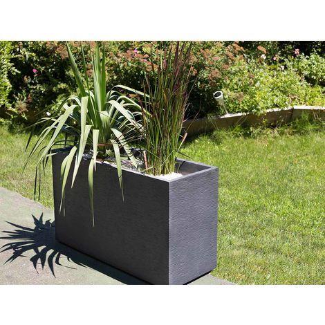 jardiniere muret graphit 99 5 x 39 5 x