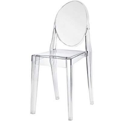 Mid Century Modern Meubles House Clear Ghost Chair Set Of 4 Meubles House Clear Chairs Solid Wood Dining Chairs Chair