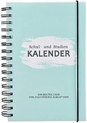 Lynlon Schulerkalender Von Juli 2018 Bis August 2019 Ein Wirklich Schoner Kalender Amazon De Kuche Haushalt Schulerkalender Kalender Schuler