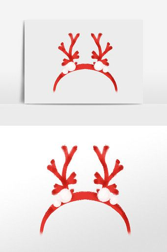 Drawing Christmas Antlers Headdress Illustration Elements Png Images Psd Free Download Pikbest How To Draw Hands Illustration Elements