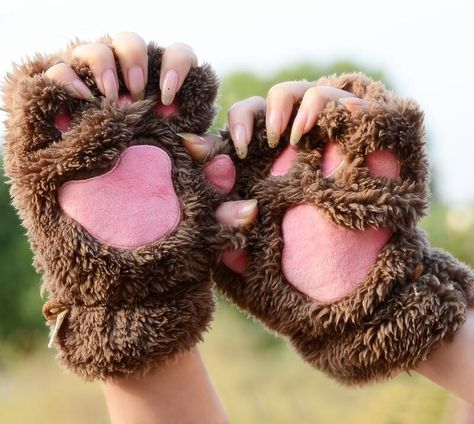 So cute! Glove fingerless