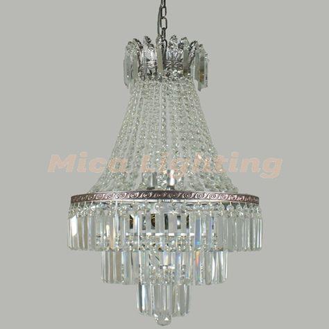 Le Maison 6 Light Large Crystal Basket Chandelier | Lights and ...