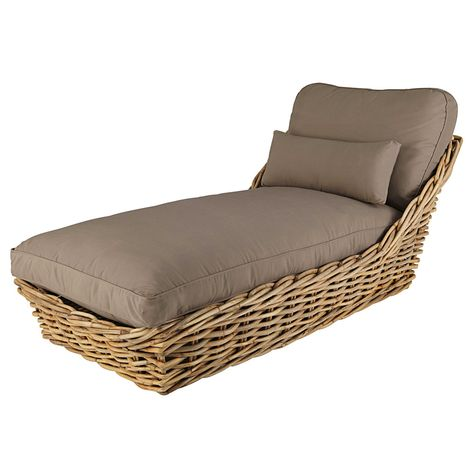 Comfortable And Simple Sun Loungers Garden Chaise Longue In