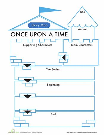 Fairy Tale Story Map | Worksheet | Education.com