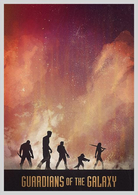 Guardians of the Galaxy by foreverclassic on DeviantArt