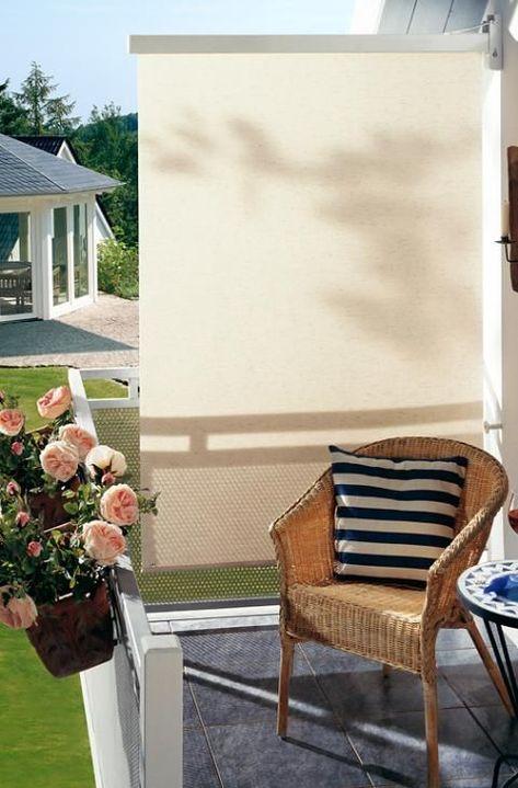 Der Balkon Sichtschutz Schoner Wohnen Balconyprivacy Balkon Sichtschutz Kleines Balkon Dekor Balkon Dekor