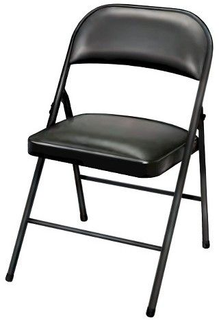 Plastic Folding Chair in White 4-Pack Plastic Development Group