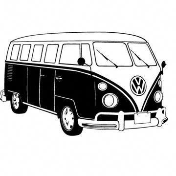Volkswagen Drawing Transportation Design Dessin Voiture Bus Dessin Dessin Noir Et Blanc