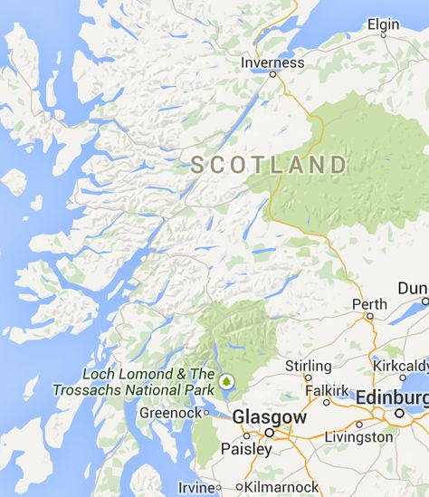 Google Maps | Scotland | Pinterest | Edinburgh, View map and Driving ...