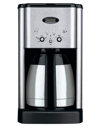 Cuisinart Brew Central Thermal 10 Cup Programmable Coffeemaker Dcc 1400c Brushed Stainless Steel Thermal Coffee Maker Best Drip Coffee Maker Coffee Maker
