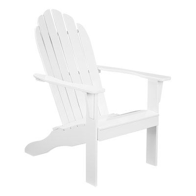 Wood Adirondack Chairs, How To Clean White Outdoor Chairs