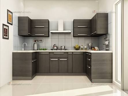 Home Architec Ideas U Shaped Kitchen Design Indian Homes